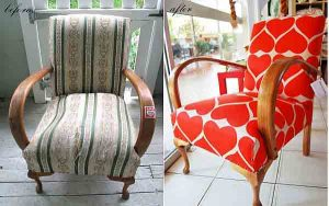 fireside chair upholstery